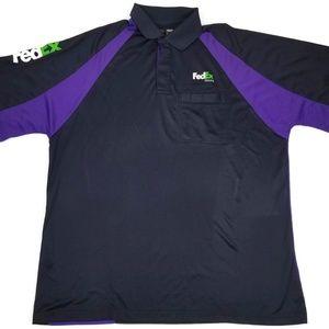 70df1d93d FedEx Shirts   Employee Uniform Work Shirt Size Xxl Sz 2xl   Poshmark